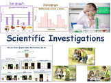 Scientific Investigation Flashcards - task cards, any middle school grade