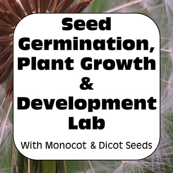 Scientific Investigation Lab: Seed Germination, Plant Grow