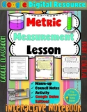 Scientific Investigation: Metric Measurements Google Digital Resource Lesson