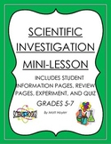 Scientific Investigation Mini Lesson Packet