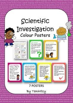 Scientific Investigation Posters