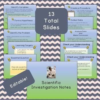 Scientific Investigation PowerPoint Notes
