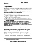 Scientific Investigation SOL Review
