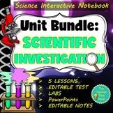 SCIENTIFIC METHOD COMPLETE UNIT- Presentation, Notes, Labs, & MORE!