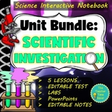 Scientific Investigation Unit Bundle: 88 pages and PowerPoint