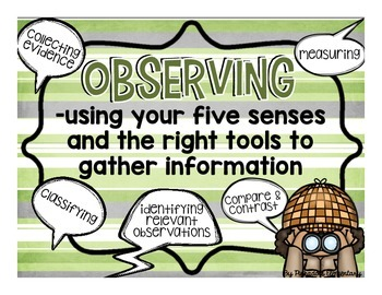 Scientific Investigation Tools: 8 Posters to Teach and Learn through Inquiry
