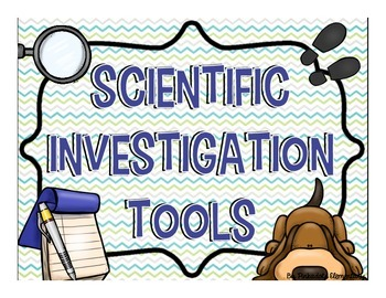 Scientific Investigation Tools: 8 Posters to Teach and Lea