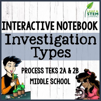 Scientific Investigation Types Interactive Notebook