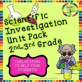 Scientific Method Unit Activities, Worksheets, Experiments for 2nd & 3rd Grade