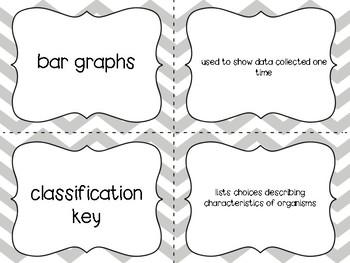 Scientific Investigation Vocab Matching Game