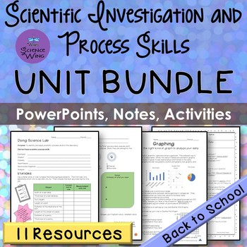 Scientific Investigation and Process Skills UNIT BUNDLE