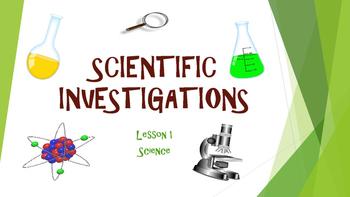 TCAP Practice:  Scientific Investigations
