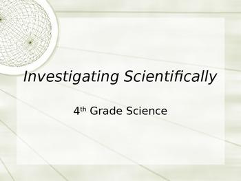 Scientific Investigations Powerpoint