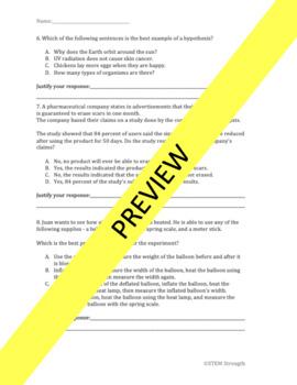 Scientific Investigations Questions