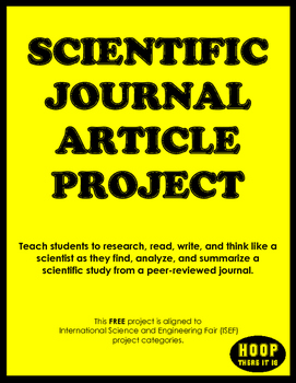 Scientific Journal Article Project