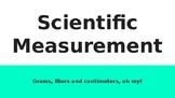 Scientific Measurement