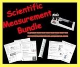 Scientific Measurement Bundle (Ruler, Graduated Cylinder & Triple Beam Balance)