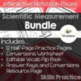 Scientific Measurement - Interactive Notebook Bundle