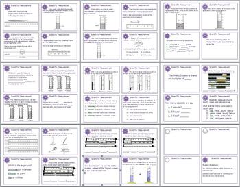 Scientific Measurement Task Cards for Middle and High School