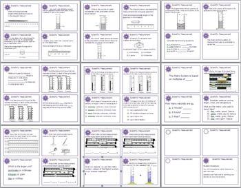 scientific measurement task cards for middle and high school by lisa michalek. Black Bedroom Furniture Sets. Home Design Ideas