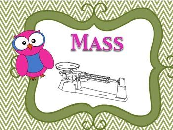 Scientific Measurement:Meters, Liters & Grams