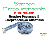 Scientific Measurements Differentiated Nonfiction Reading Passages