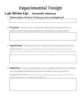 Scientific Method: