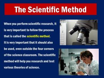 Scientific Method Activity   Scientific Method PowerPoint Lesson