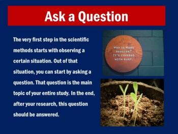 Scientific Method PowerPoint | Scientific Method Activity | Power Point