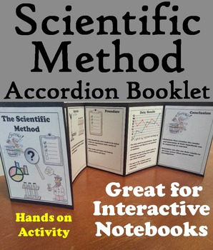 Scientific Method Activity: Interactive Notebook: Observation, Hypothesis, etc.