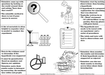 The Scientific Method Interactive Notebook: Observation, Questioning, Hypothesis