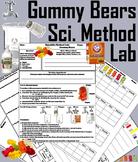 Science Experiment: Gummy Bears Lab/ The Scientific Method Worksheet