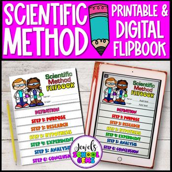 Scientific Method Activities (Scientific Method Flip Book)