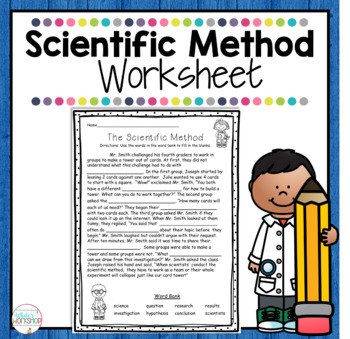 scientific method worksheet by white 39 s workshop tpt. Black Bedroom Furniture Sets. Home Design Ideas