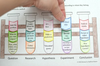 Scientific Method Cut and Paste Activity
