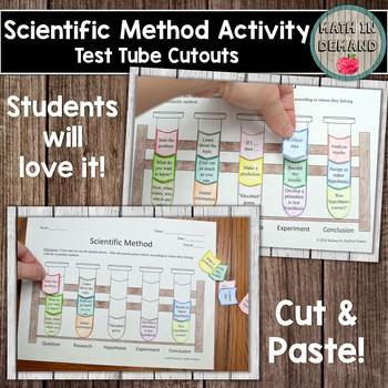 Scientific Method Cut and Paste Activity