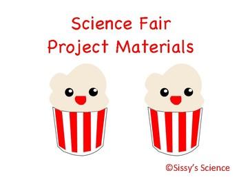 Science Fair Project: Popcorn