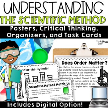 Scientific Method Activities and Task Cards