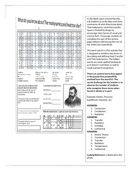Science Activity Page
