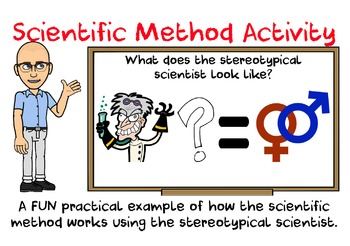 Scientific Method Activity with Graphical Analysis