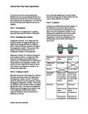 Scientific Method Article