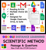 Scientific Method - Article & Questions - Distance Learning