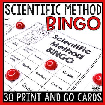 Scientific Method BINGO