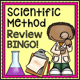 Scientific Method Activity - Review Bingo