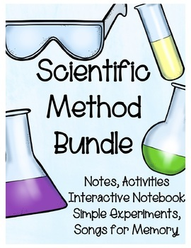 Scientific Method BUNDLE (Differentiated ADVANCED, ESOL, SPED for EVERY LEARNER)