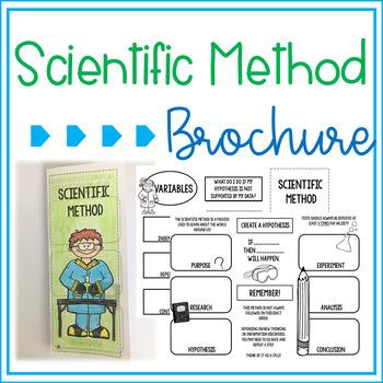Scientific Method Brochure Foldable