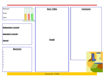 Scientific Method Brochure ... by Science Etc   Teachers Pay Teachers