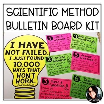 Scientific Method Bulletin Board Kit for Big Kids!