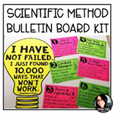 Scientific Method Bulletin Board Kit Back to School Bulletin Board Grades 4-6