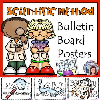 Scientific Method Bulletin Board Posters